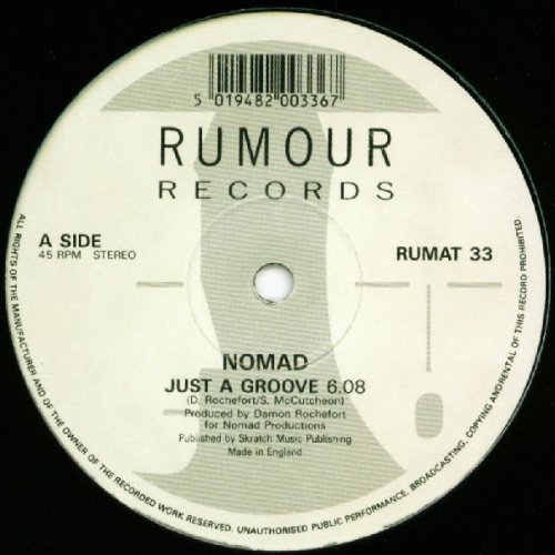 Bild 1: Nomad, Just a groove (UK)