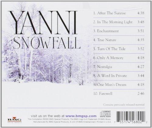 Bild 2: Yanni, Snowfall (2000, US)