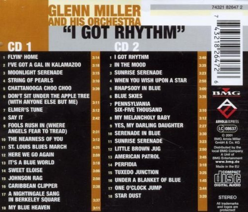 Bild 2: Glenn Miller, I got rhythm (36 tracks, BMG/AE, & his Orch.)