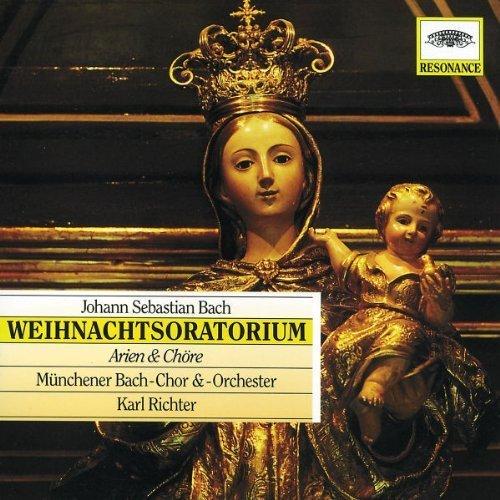 Bild 1: Bach, Weihnachtsoratorium-Arien & Chöre (DG/Resonace, 1965) Münchener Bach-Chor & Orch./Richter, Gundula Janowitz..