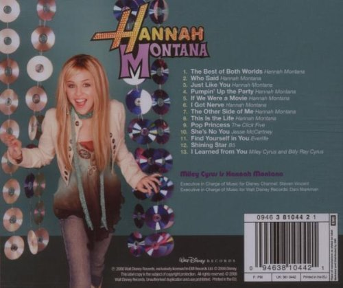Bild 2: Hannah Montana (2006), Songs from and inspired by the hit tv series