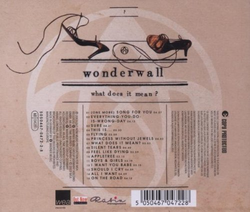 Bild 2: Wonderwall, What does it mean? (2003, special edition)