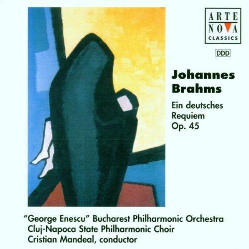 Bild 1: Brahms, Ein deutsches Requiem, op. 45 (Arte Nova, 1997) 'George Enescu' Bucharest PO/Mandeal..