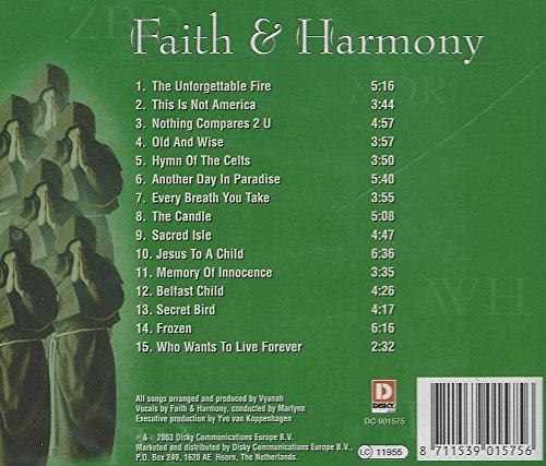 Bild 3: Faith & Harmony, Gregorian choir chants pop classics (2003)