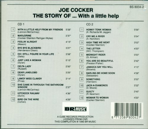 Bild 2: Joe Cocker, Story of...with a little help from my friends (1990)