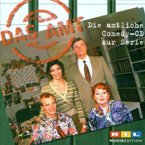 Bild 1: Das Amt (2000, RTL), Die amtliche Comedy-CD zur Serie
