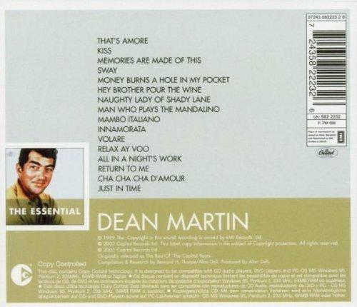 Bild 2: Dean Martin, Essential (2003)