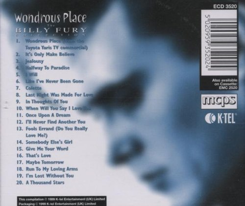 Bild 2: Billy Fury, Wondrous place-The collection (1999)