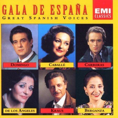 Bild 1: Gala de España (EMI), Domingo, Caballé, Carreras, De Los Angeles, Berganza..