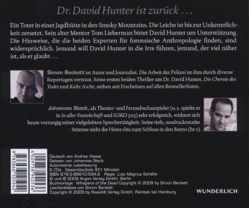 Bild 2: Simon Beckett, Leichenblässe (6CD, Leser: Johannes Steck)