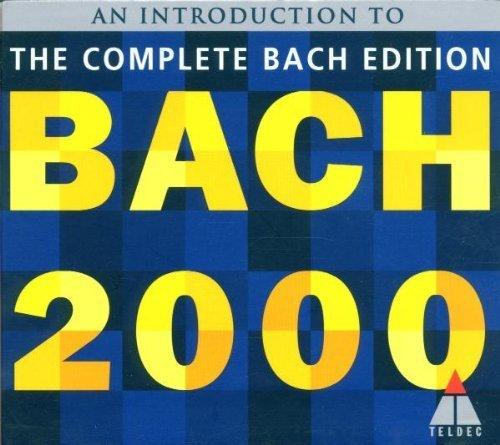 Bild 1: Bach, Bach 2000 sampler (Teldec) Ton Koopman, Nikolaus Harnoncourt, Thomas Zehetmair..
