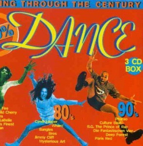Bild 1: 100% Dance-Dancing Through The Century (1995, Sony), Pharao, Culture Beat, Labelle, 5000 Volts, Free..