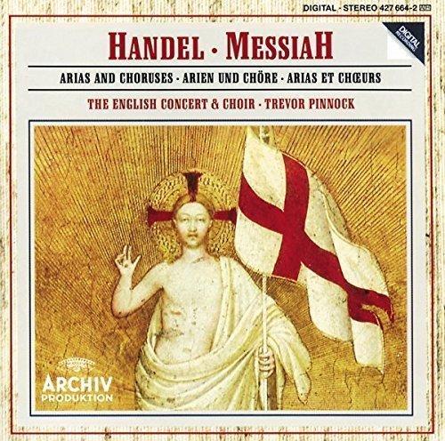 Bild 1: Handel, Messiah-Arias & Choruses ('Archiv') English Concert & Choir/Pinnock