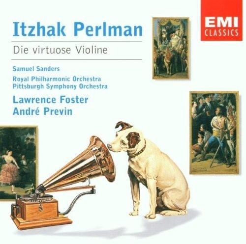 Bild 1: Itzhak Perlman, Die virtuose Violine (EMI) Lawrence Foster, André Previn..
