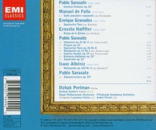 Bild 2: Itzhak Perlman, Die virtuose Violine (EMI) Lawrence Foster, André Previn..