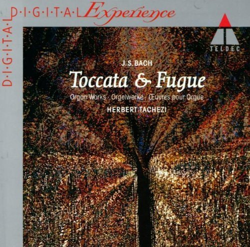 Bild 1: Bach, Toccata & Fuge-Greatest organ works (Teldec, 1985) Herbert Tachezi, Silbermannorgel Dresden