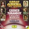 Bizet, Carmen/Puccini: Turandot/Mascagni: Cavalleria..(DG) Carreras, Baltsa, Bergonzi..Karajan