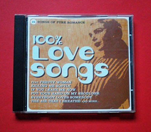 Bild 1: 100% Love Songs (21 tracks), Chicago, Temptations, Hollies, America, Billy Paul..