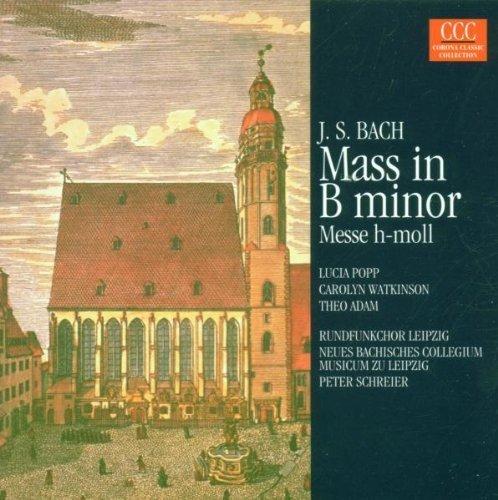 Bild 1: Bach, Messe in h-moll, BWV 232 (Edel, 1982) Neues Bachisches Collegium Musicum zu Leipzig/Schreier, Lucia Popp, Theo Adam..