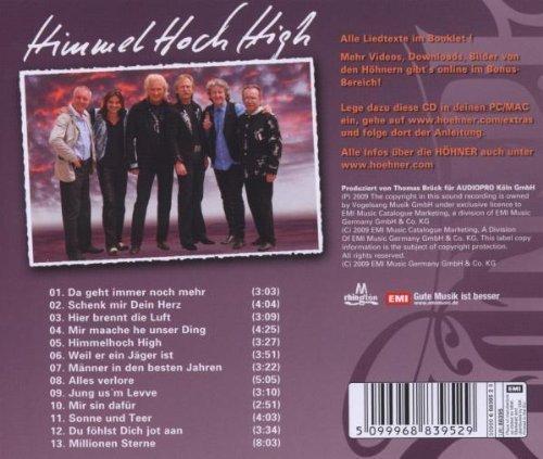 Bild 2: Höhner, Himmelhoch high (2009)