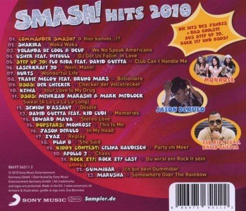 Bild 2: Smash! Hits 2010 (Sony), Shakira, Yolanda Be Cool & Dcup, Usher feat. Pitbull, Laserkraft 3D..