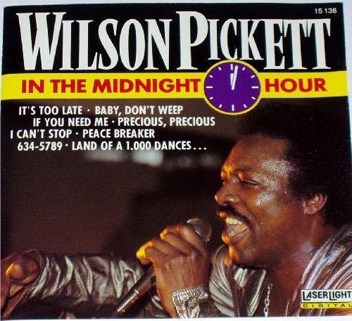 Bild 1: Wilson Pickett, In the midnight hour (#laserlight15138)