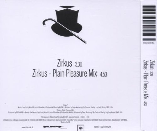 Bild 2: Mia., Zirkus (2006; 2 versions)