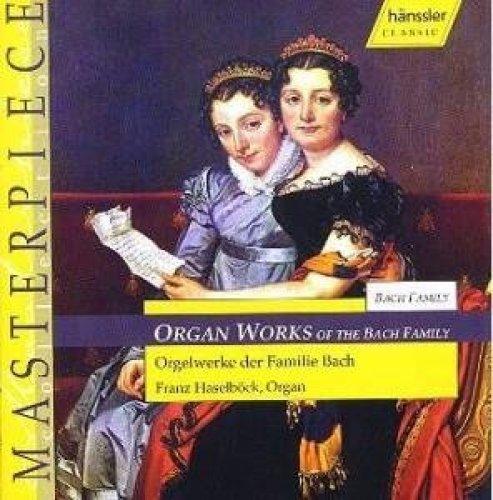 Bild 1: Bach, Organ works of the Bach family (Hänssler) Franz Haselböck