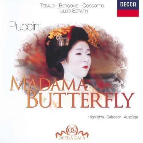 Bild 1: Puccini, Madame Butterfly-Highlights (Decca, 1958) Orch. e Coro dell'Accademia di Santa Cecilia, Roma/Serafin, Renata Tebaldi, Carlo Bergonzi..