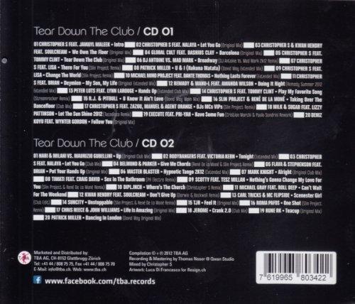 Bild 1: Christopher S, Tear down the club (2012)