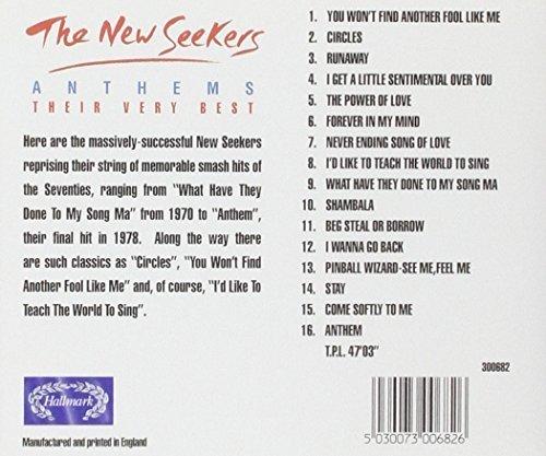 Bild 2: New Seekers, Anthems-Their very best (Hallmark)
