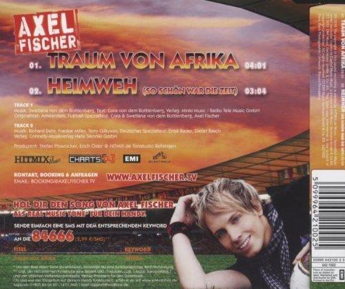 Bild 2: Axel Fischer, Traum von Afrika-Die Amsterdam Fussball Version (2010; 2 tracks)