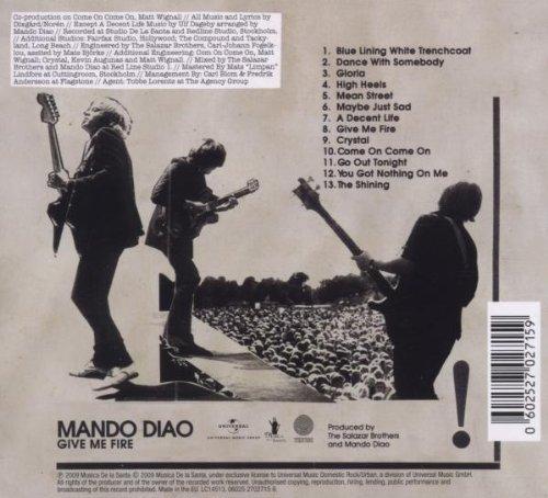 Bild 3: Mando Diao, Give me fire (2009, slidecase)