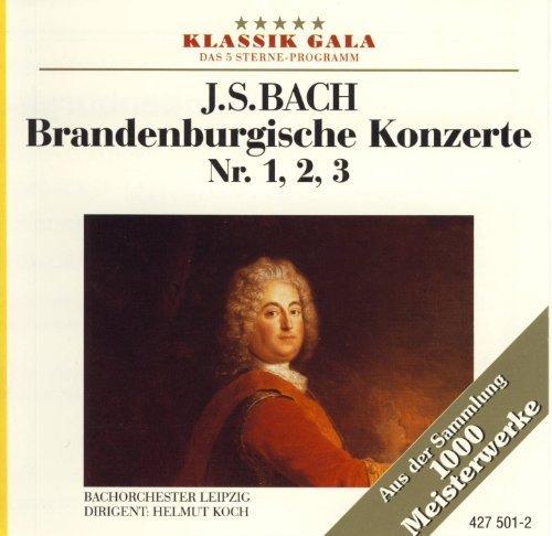 Bild 1: Bach, Brandenburgische Konzerte Nr. 1, 2, 3 (Karussell, 1966) Bachorch. des Gewandhausorch. Leipzig/Koch