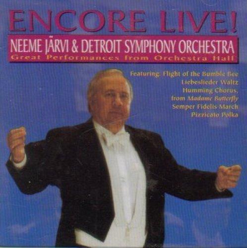 Bild 1: Neeme Järvi, Encore live! (& Detroit Symph. Orch.)