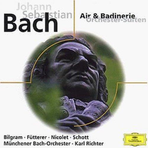 Bild 1: Bach, Air & badinerie-Orchester-Suiten und Konzerte (DG, 1961-73) Karl Richter, Aurèle Nicolet, Münchener Bach-Orch./Richter..