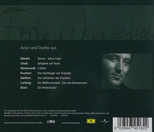 Bild 2: Fritz Wunderlich, Arien und Duette (2003, Universal)