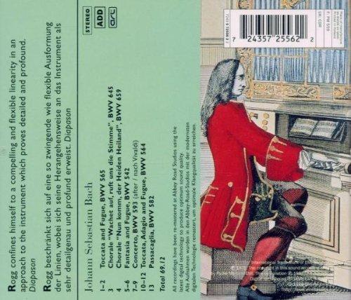 Bild 2: Bach, Organ works (EMI Red Line, 1976) Lionel Rogg