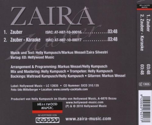Bild 2: Zaira, Zauber (2 tracks)