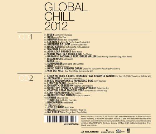 Bild 2: Global Chill 2012 (Globe), Moby, Dido, Benirras, Lustral, Slackwax, Agua Loca Project..