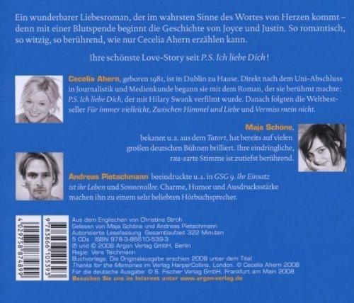 Bild 2: Cecelia Ahern, Ich hab dich im Gefühl (Maja Schöne/Andreas Pietschmann)
