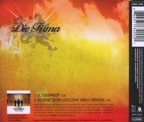 Bild 2: Die Firma, Glücksprinzip (2007; 2 tracks)