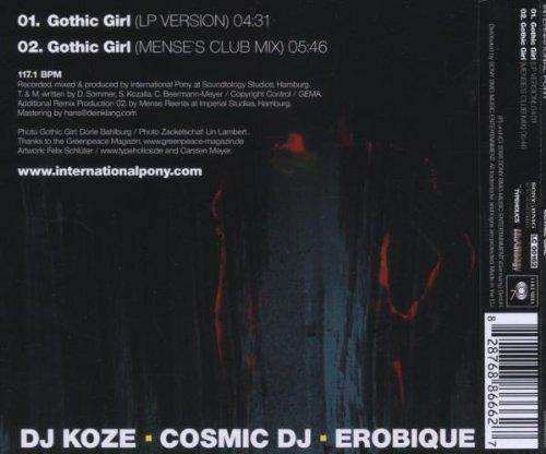Bild 2: International Pony, Gothic girl (2006; 2 tracks)