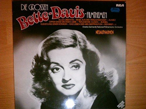Bild 1: Bette Davis, Die grossen Bette-Davis-Filmthemen (1973, Neuaufnahmen, 1-sided test pressings)