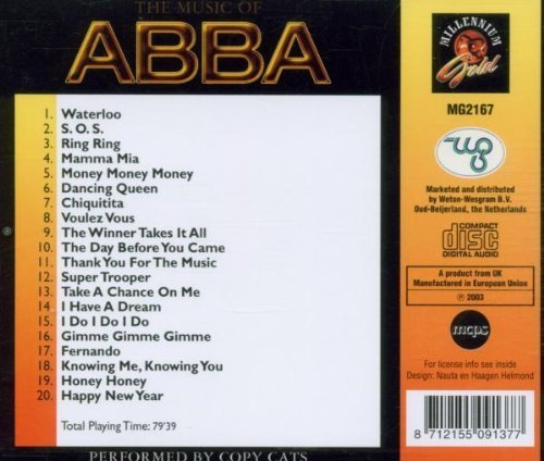 Bild 2: Abba, Music of (by Copy Cats)