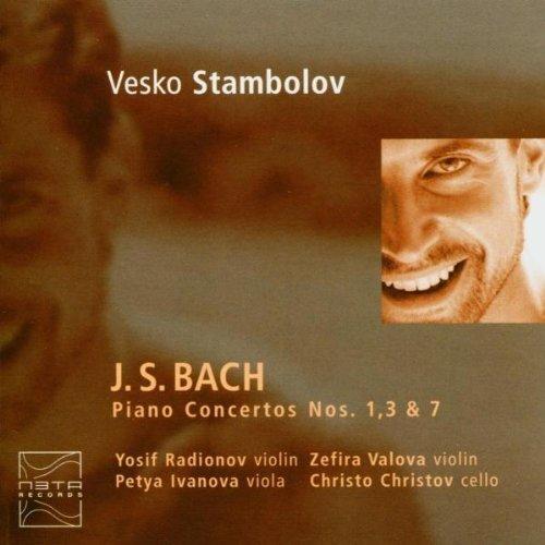 Bild 1: Bach, Piano concertos Nos. 1, 3 & 7 (Meta) Veska Stambolov, Yosif Radionov, Zefira Valova..