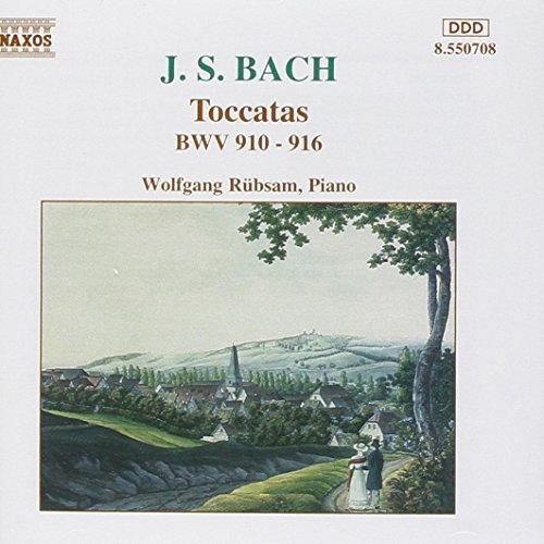 Bild 1: Bach, Toccaten, BWV 910-916 (1989) Wolfgang Rübsam
