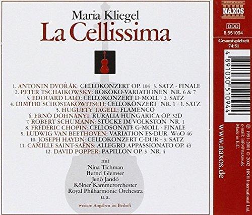 Bild 2: Maria Kliegel, La Cellissima (2002)