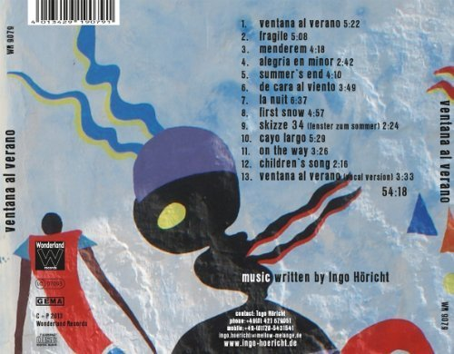 Bild 4: Marialy Pacheco, Ventana al verano-Compositions by Ingo Höricht (2013, & David Jehn)