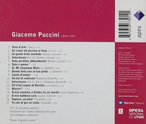 Bild 3: Puccini, Arias & songs (Apex) Kiri Te Kanawa, Orch. Opera National de Lyon/Nagano/Vignoles